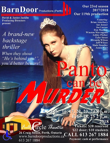Panto Can Be Murder February 16 to 25