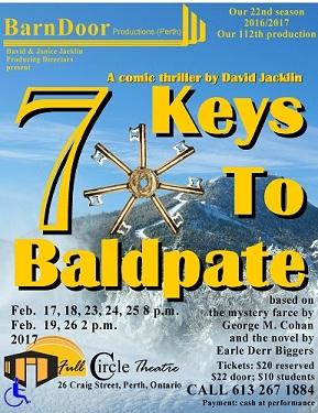 Seven Keys To Baldpate - February