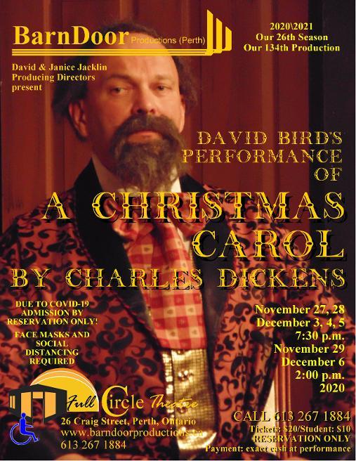 David Bird's A Christmas Carol