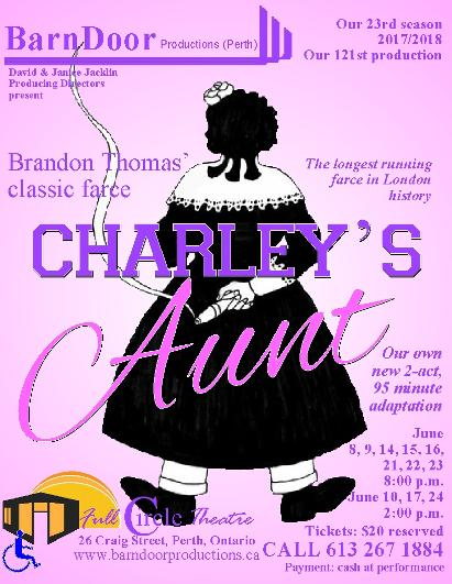 Charley's Aunt poster
