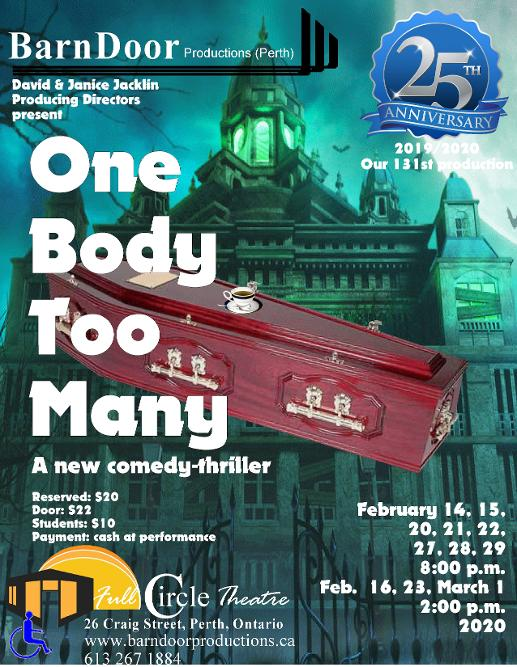 One Body Too Many Poster