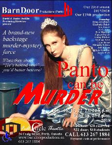Panto Can Be Murder poster 2018