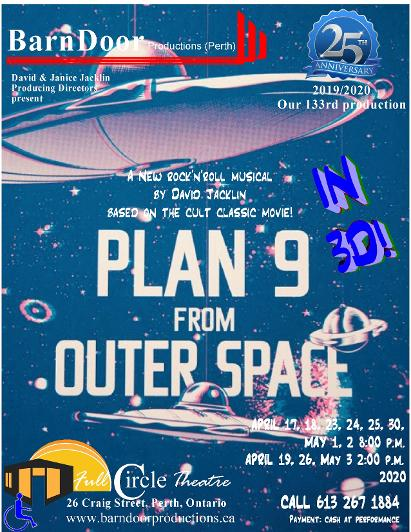 Plan Nine From Outer Space poster