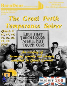 The Great Perth Temperance Soiree